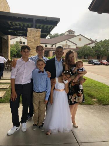 Ben's wedding