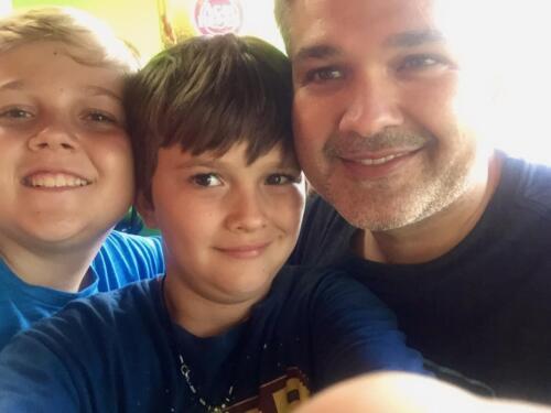 Jake, Josh and dad